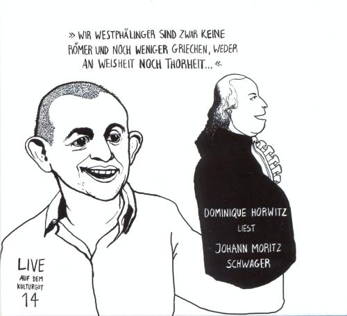 CD Cover Johann Moritz Schwager