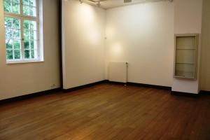 Das weisse Blatt II – Ausstellungsraum