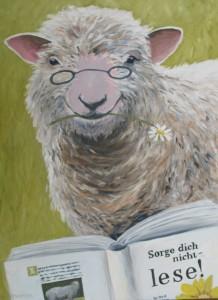 Schafspostkarte